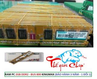 RAM PC 2GB DDR2 -BUS 800 KINGMAX (BẢO HÀNH 3 NĂM - 1 ĐỔI 1) thumbnail
