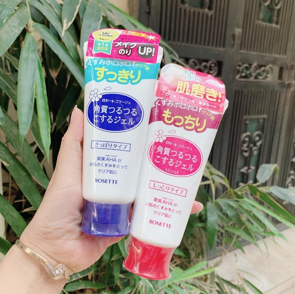 Gel Tẩy Da Chết Rosette Peeling Gel 120g- Nội Địa Nhật Bản cao cấp