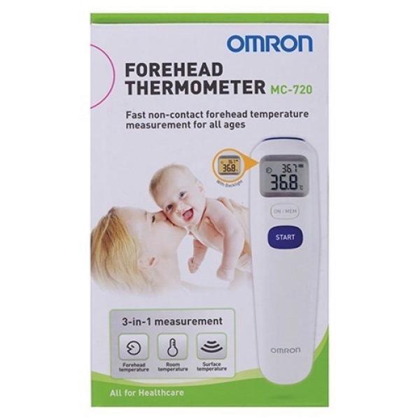 nhiệt kế hồng ngoại Omron MC-720 bán chạy