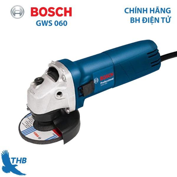 Máy mài góc giá rẻ Máy mài cầm tay Bosch GWS 060 Công suất 670W đá mài 100 - Dòng bán chạy nhất Bosch năm nay