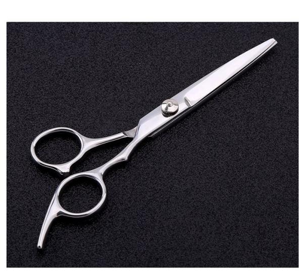 Kéo cắt và tỉa tóc 6inch Cao cấp (màu trắng) cao cấp