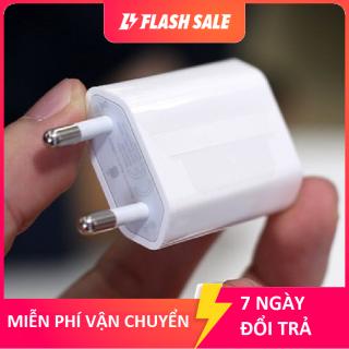 Củ sạc zin bóc máy iPhone 7 chân tròn nhỏ chuẩn Việt Nam seal nhám Apple - Cam kết zin theo máy thumbnail