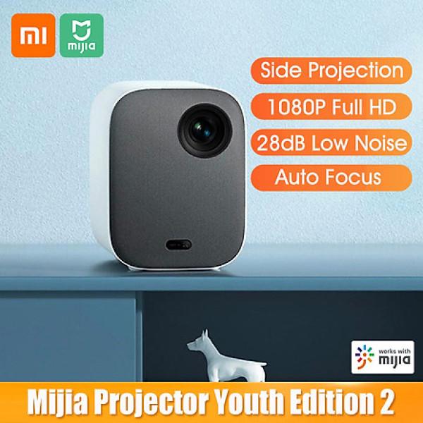 Bảng giá Máy chiếu Full HD 4K Xiaomi Mijia DLP Youth Edition 2 1080P FHD 460 ANSI Lumens 2GB 16GB Tự động lấy nét trường xa Giọng nói 28dB tiếng ổn thấp