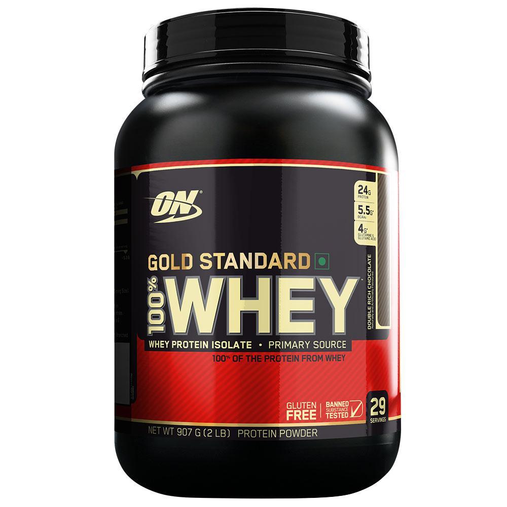 Thực Phẩm Bổ Sung Protein Optimum Nutrition Whey Gold Standard 2Lbs ( 909gr ) Đang Giảm Giá