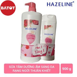 Sữa Tắm Hazeline 900 dưỡng trắng Matcha & Lựu Đỏ thumbnail