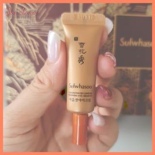 Sulwhasoo Concentrated Ginseng Renewing EYE Cream EX 5ml -Kem Dưỡng Mắt Nhân Sâm Chống Lão Hóa Tái Sinh Da Vùng Mắt thumbnail