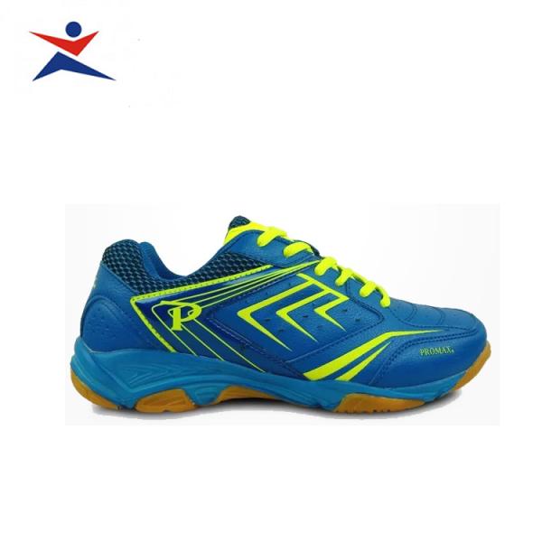 Giày cầu lông Promax PR19002 cao cấp, dành cho nam và nữ, màu xanh dương - sportmaster - Giầy bóng chuyền nam nữ - Giày chơi cầu lông
