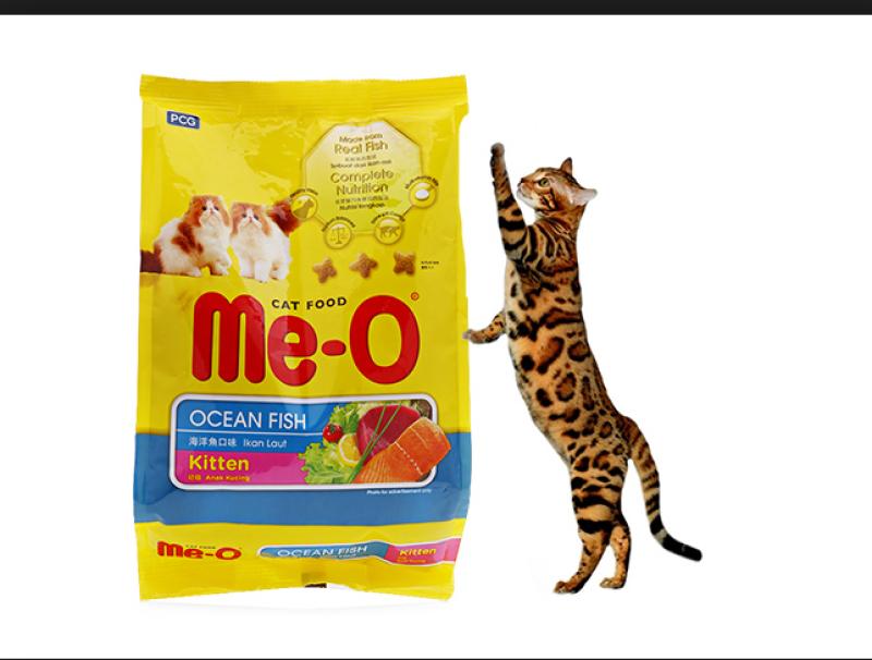 Thức Ăn Cho Mèo Con Hạt Me-O Kitten 1.1Kg Vị Cá Biển