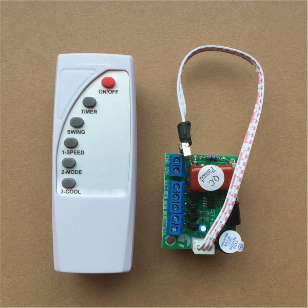 Bảng giá Bộ điều khiển quạt từ xa đa năng (chế quạt thường thành quạt điều khiển từ xa) Điện máy Pico