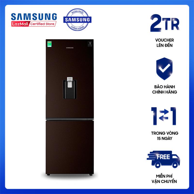 Tủ lạnh Samsung Inverter 307 lít RB30N4170BY/SV, Kim loại phủ sơn bóng giả gương [Hàng chính hãng, Miễn phí vận chuyển]