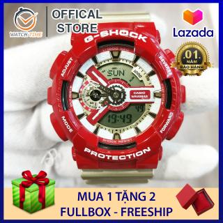 Đồng hồ Casio G-Shock Nam GA-110 Iron Man - Chống nước 200M,Tặng kèm pin dự phòng, Bảo hành 12 tháng thumbnail