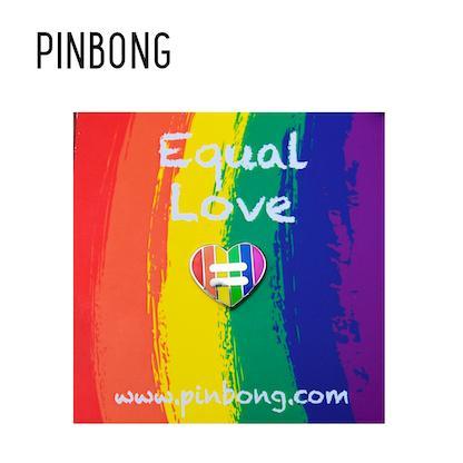Huy hiệu Equal Love PINBONG