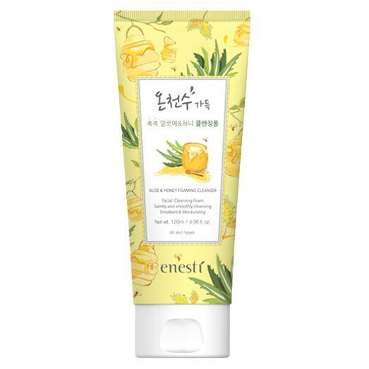 Sữa Rửa Mặt Lô Hội, Mật Ong Suanbo Spa Aloe & Honey Foaming Cleanser 120ml cao cấp