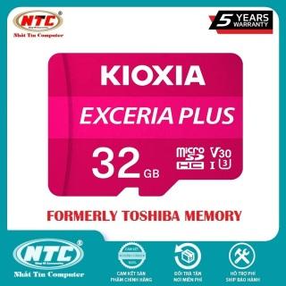 [HCM]Thẻ nhớ MicroSDHC Kioxia Exceria Plus 32GB U3 4K V30 A1 R98MB s W65MB s (Tím) - Nhất Tín Computer thumbnail