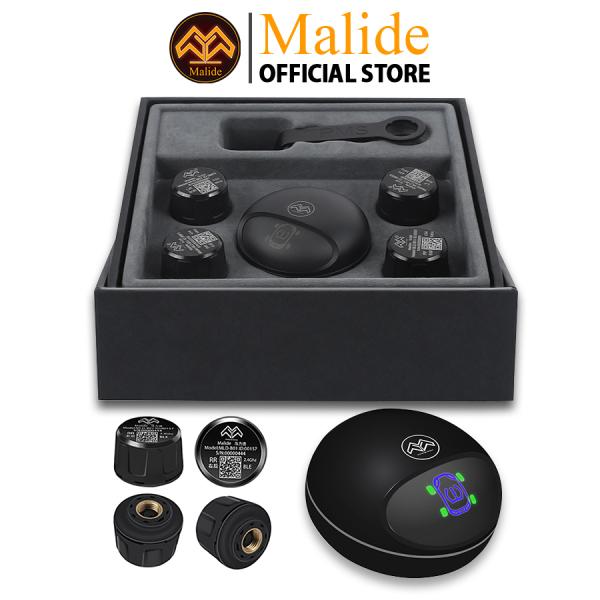 [CHÍNH HÃNG] Cảm biến áp suất lốp van ngoài Malide cao cấp kết nối APP điện thoại độc quyền + Cảnh báo giọng nói mini đa chức năng - Hiển thị APP đồng bộ trên nhiều thiết bị - BẢO HÀNH 5 NĂM - MỘT ĐỔI MỘT 365 NGÀY - B03R03