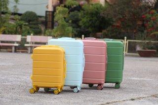Vali du lịch BAMOZO DORIS vali kéo nhựa size 20inch- Bảo hành 5 năm thumbnail