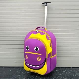 Balo kéo Pediasure hình khủng long balo kéo đi học đi chơi cho thumbnail