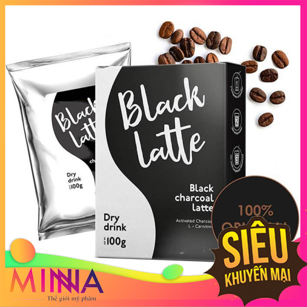 Trà giảm cân Black Latte - Chuẩn Nga Đốt Cháy Mỡ, Giảm Cân, Eo Thon Không Cần Tập Thể Dục, Ăn Kiêng nhập khẩu