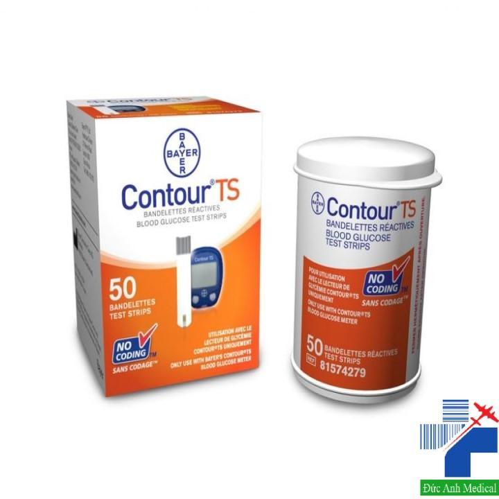 Que thử đường huyết contour TS (Hộp 50) cao cấp