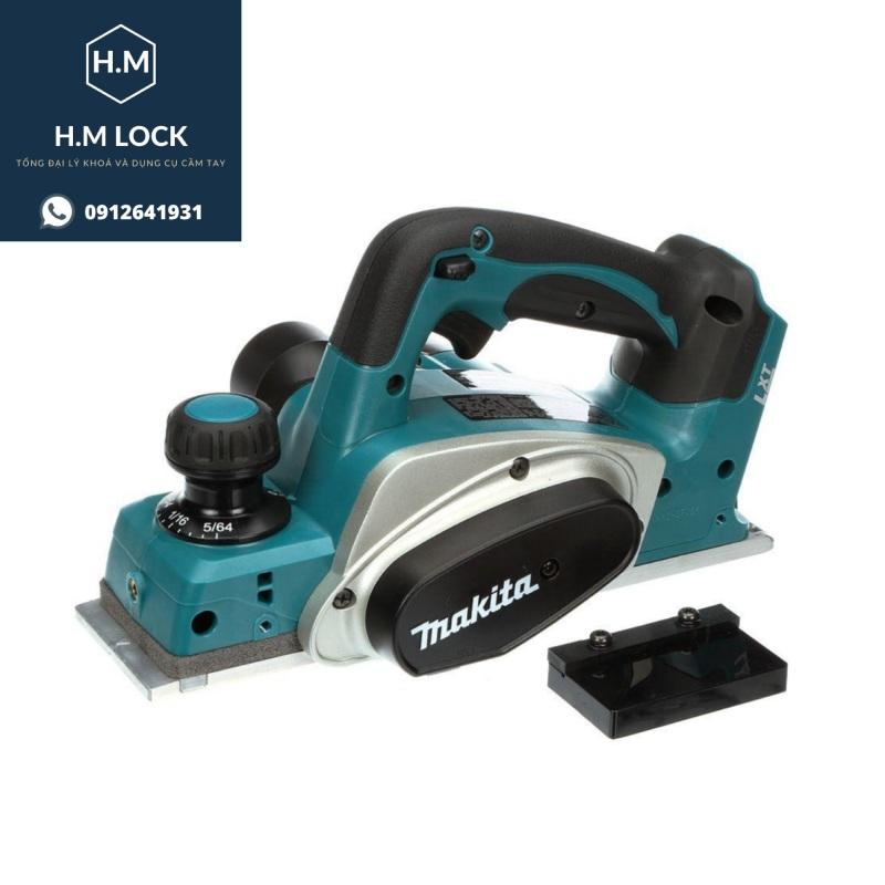 Máy bào gỗ MAKITA N1900B (82mm) - (Tặng 1 lưỡi bào) Lõi đồng 100% - Vỏ hợp kim cao cấp - HM Lock