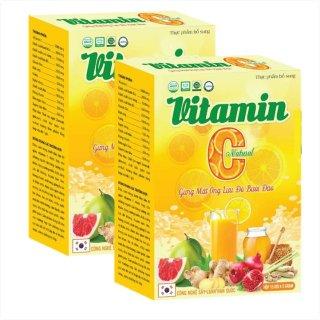 Vitamin C Natural Gừng Mật Ong, Lựu Đỏ, Bưởi Đào- Giúp Bổ Sung Vitamin C, Tăng Sức Đề Kháng, Hỗ Trợ Thải Độc, Tăng Cường Miễn Dịch, Phòng Ngừa Bệnh Tật thumbnail