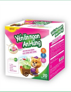 ến Ăn Ngon An Hưng- Bổ sung DHA, Taurin, Vitamin và khoáng chất Giúp ăn ngon, tăng cường hấp thụ dưỡng chất, đặc biệt ở trẻ còi xương, suy dinh dưỡng, biếng ăn thumbnail