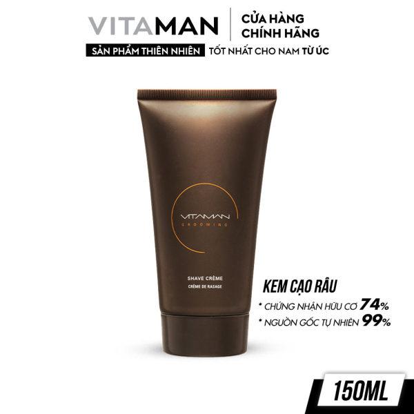 Kem Cạo Râu Dành Cho Nam Vitaman Grooming Shave Crème 150ml