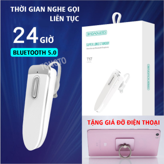 Tai nghe Bluetooth không dây T17 - Tai nghe không dây,tai nghe nhét tai không dây, Tai Nghe Chụp Tai,Tai nghe nhét tai, tai nghe bluetooth,tai nghe nhét tai,amoi f9,v9,v11,i7s,i9s,i11,i12 - Tonoto Store - thumbnail