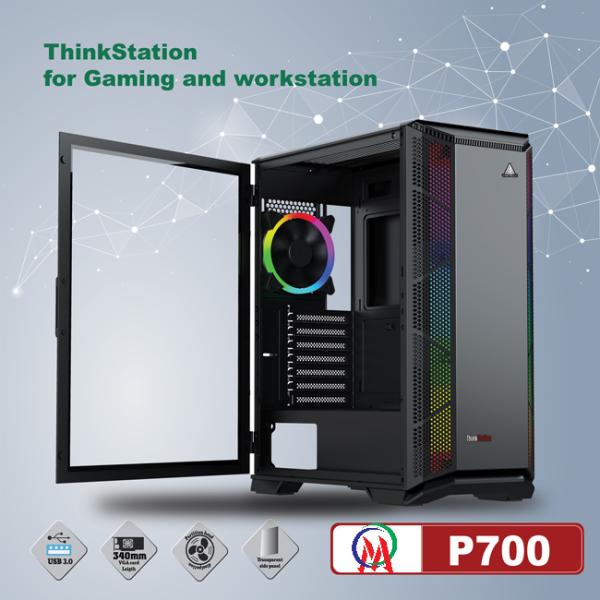 Bảng giá [HCM]Vỏ Case Máy tính VSP P700 / P710 ThinkStation Chuẩn Full ATX (Mặt Lưới) Siêu làm mát cho PC GAMING Phong Vũ