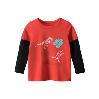 [ VIDEO] H153 Áo thun dài tay bé trai 27KIDS chất liệu 100% cotton in hình ROARSOME DINO (RED) cho bé từ 10-33kg (2 tuổi -10 tuổi ) an toàn mềm mịn thích hợp cho bé đi học đi chơi thumbnail