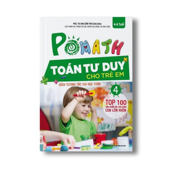 [HCM]Sách - Pomath - Toán tư duy cho trẻ em 4-6 tuổi (tập 4)