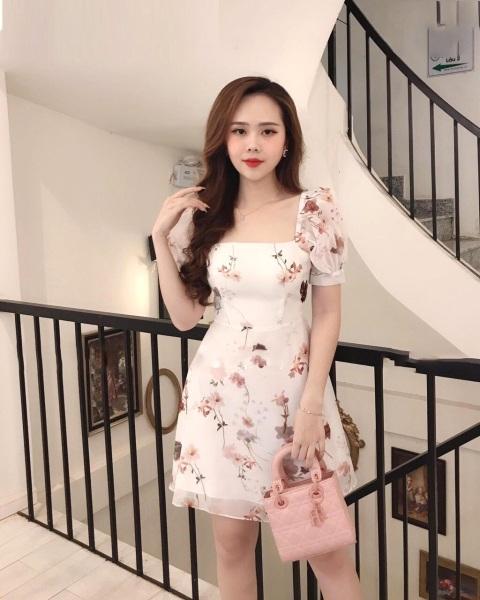 Đầm Hoa cực xinh Tay lở Dễ ThươngNGOCTRANSHOP - NT1097