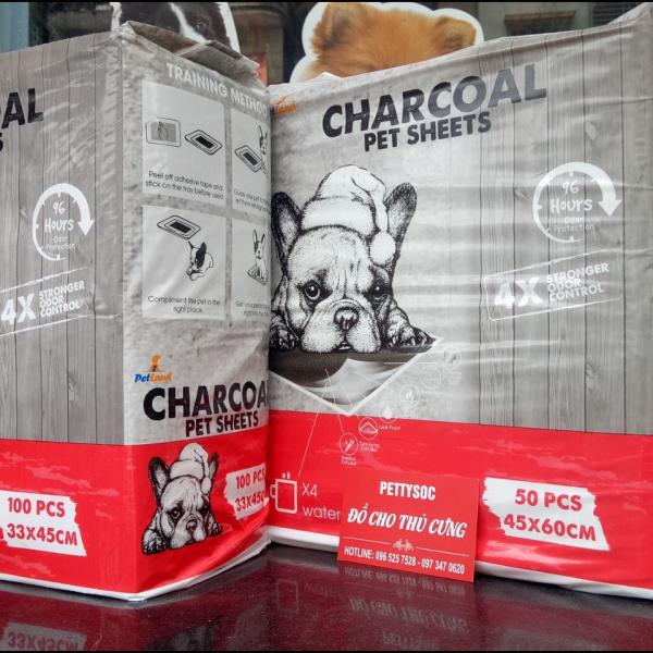 Miếng lót vệ sinh cho chó mèo Charcoal