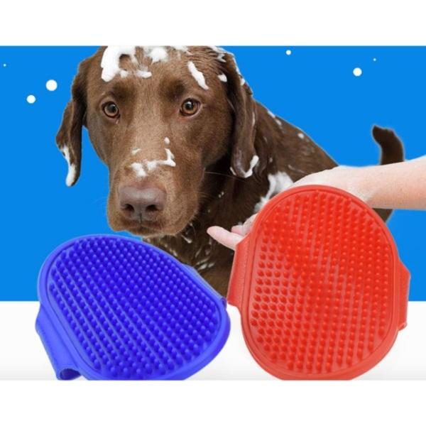 Bàn chải, găng tay chải lông, massage Giúp cho Thú Cưng, Chó, Mèo dễ chịu hơn khi tắm