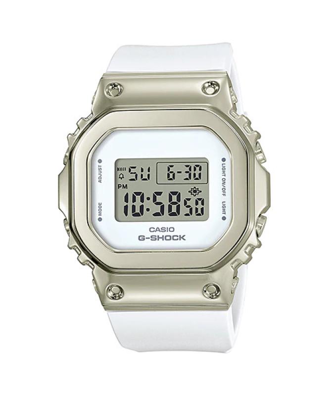 [HCM]Đồng hồ casio nữ dây nhựa G-SHOCK GM-S5600G-7DR chính hãng