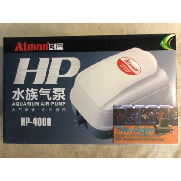 Máy sủi OXY ATMAN HP-4000 siêu mạnh và chạy êm