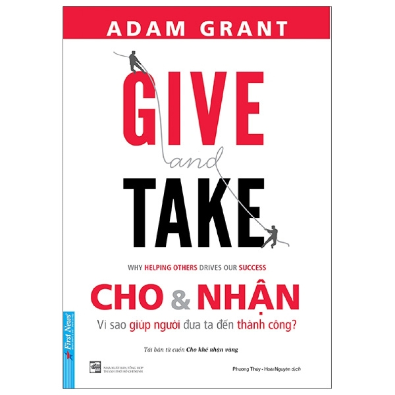 Fahasa - Give And Take - Cho & Nhận (Tái Bản 2021)