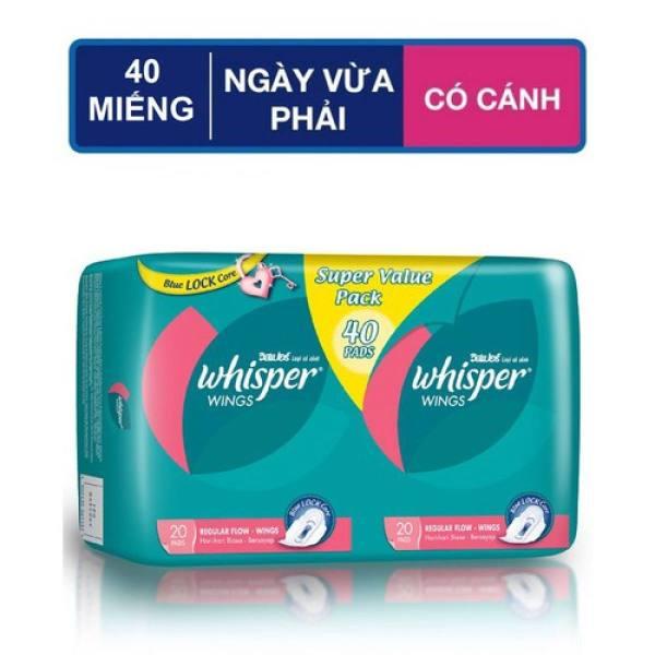 [HCM]Băng vệ sinh Whisper Ngày 40s cao cấp