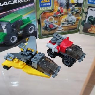 Đồ chơi trẻ em xếp hình LEGO CITY lắp ráp các loại xe ô tô từ 27 đến 32 chi tiết nhựa ABS cao cấp cho bé từ 4 tuổi trở lên phát triển trí tuệ và sáng tạo - Giới hạn 5 sản phẩm khách hàng 6