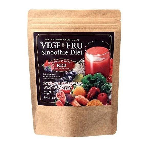 Bột sinh tố giảm cân vị dâu tây & việt quất 300g hàng nội địa Nhật Bản