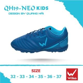 [ CHÍNH HÃNG ] Giày đá bóng trẻ em Wika Quang Hải QH19-NEO KID Chính Hãng , Da Microfiber Siêu Mềm thumbnail