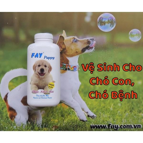 Phấn khử mùi fay puppy & kitty 120g (chó mèo) - dành cho mèo cam kết sản phẩm đúng mô tả chất lượng đảm bảo an toàn đến sức khỏe thú cưng của bạn