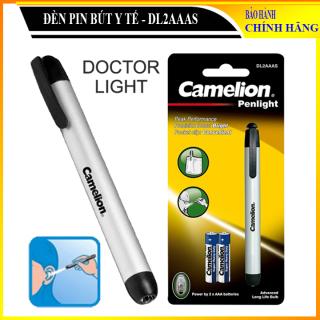 Đèn Bút Soi Tai Mũi Họng Mắt Camelion Ánh Sáng Vàng, đèn pin bút Camelion Doctor Light - DL2AAAS [Kèm 2 Pin] thumbnail