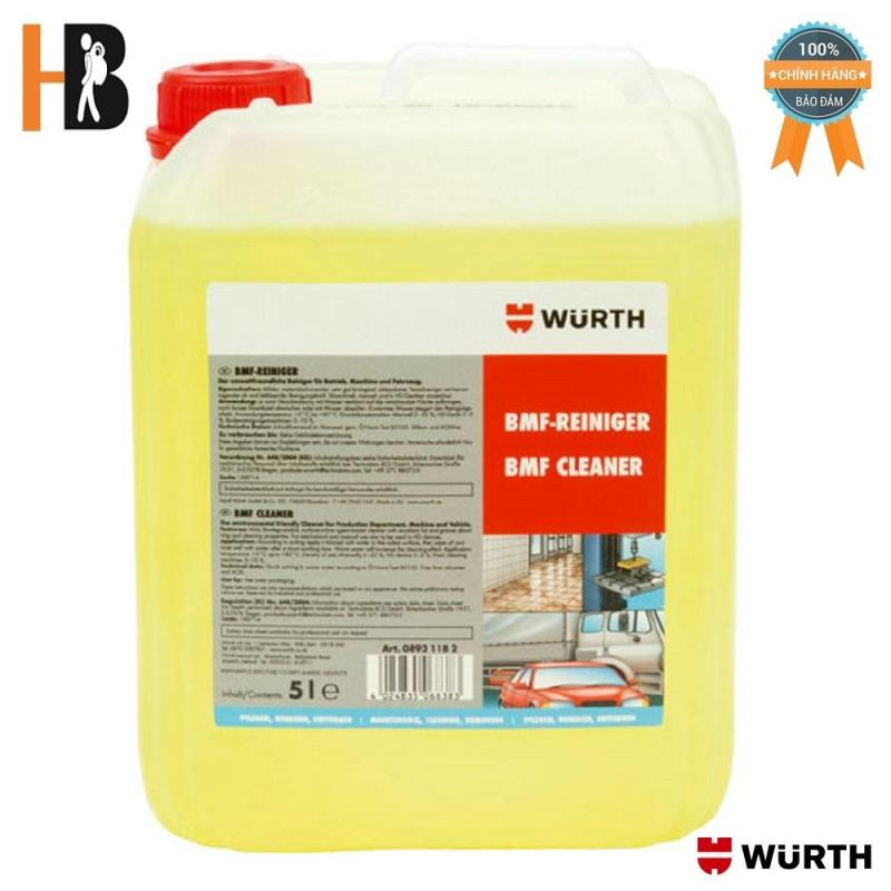 Nước Tẩy Rửa Đa Năng Wurth Bmf Workshop Cleaner 5 Lít 08931182