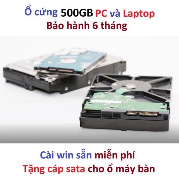 Bảng giá Ổ cứng 500gb pc và laptop hdd 500gb laptop desktop pc máy bàn hàng kho Nhật rã máy 500G HDD laptop HDD máy bàn Phong Vũ