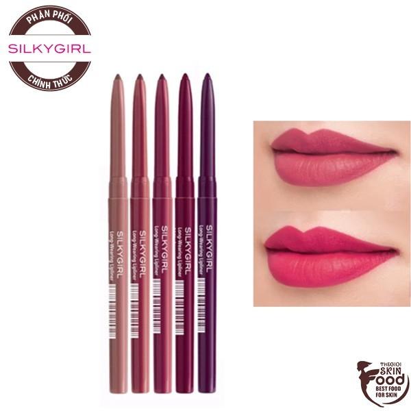Chì Kẻ Viền Môi Rõ Nét, Lâu Trôi Silkygirl Long-Wearing Lip Liner 0.35g giá rẻ