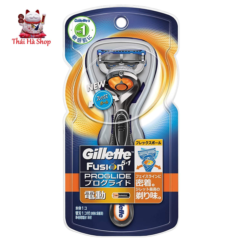 Máy Cạo Râu Gillette Fusion 5 + 1 Nhật Bản