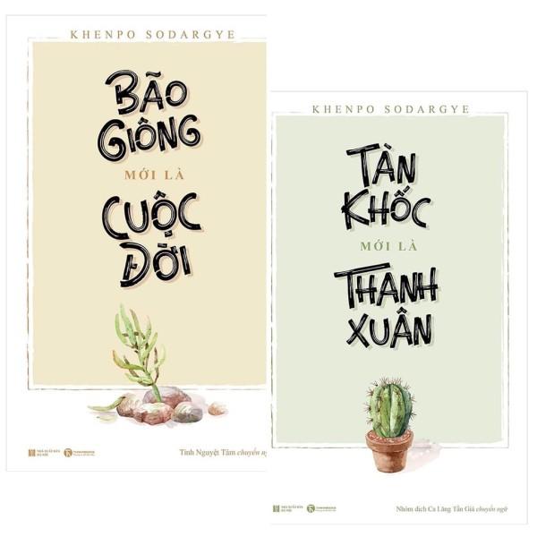 Mua Sách - Combo Tàn Khốc Mới Là Thanh Xuân + Bão Giông Mới Là Cuộc Đời - Khenpo Sodargye