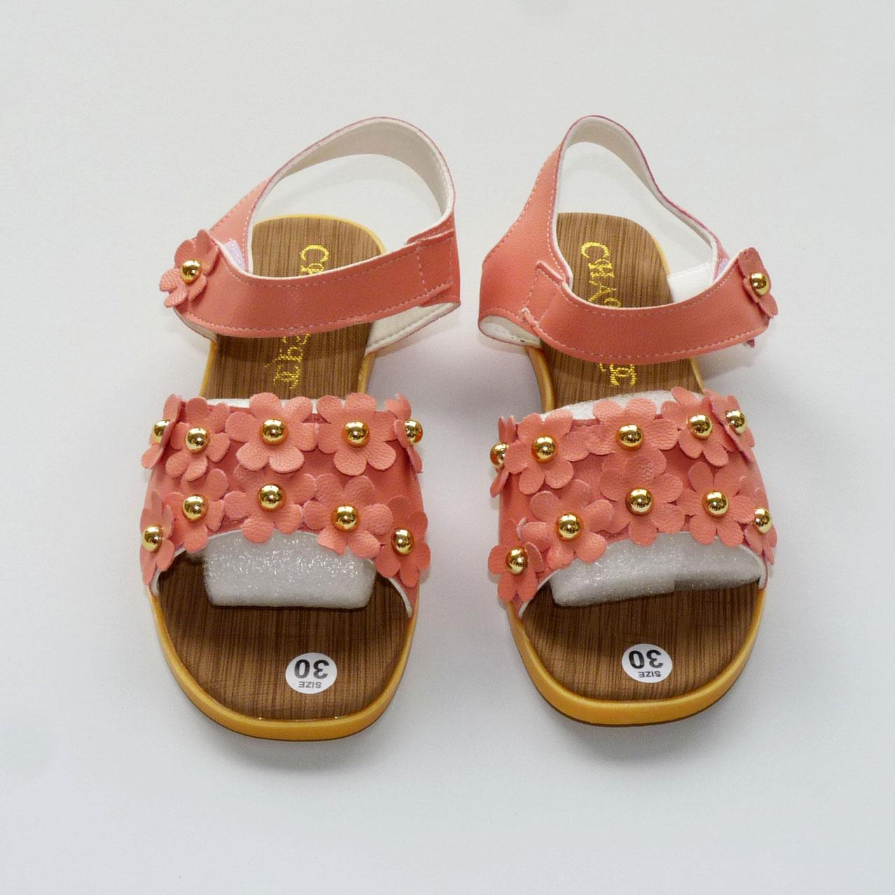 Giá bán Sandals Bé Gái trang trí hoa nhí