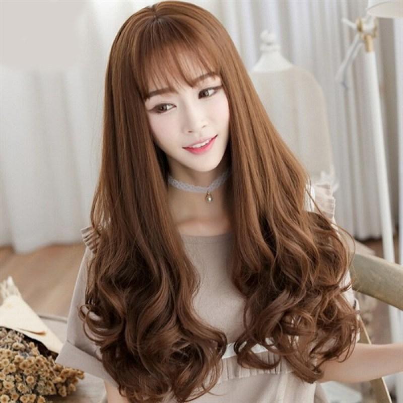 Bộ Tóc Giả Hàn Quốc TG02 0 - Tặng kèm lưới trùm tóc